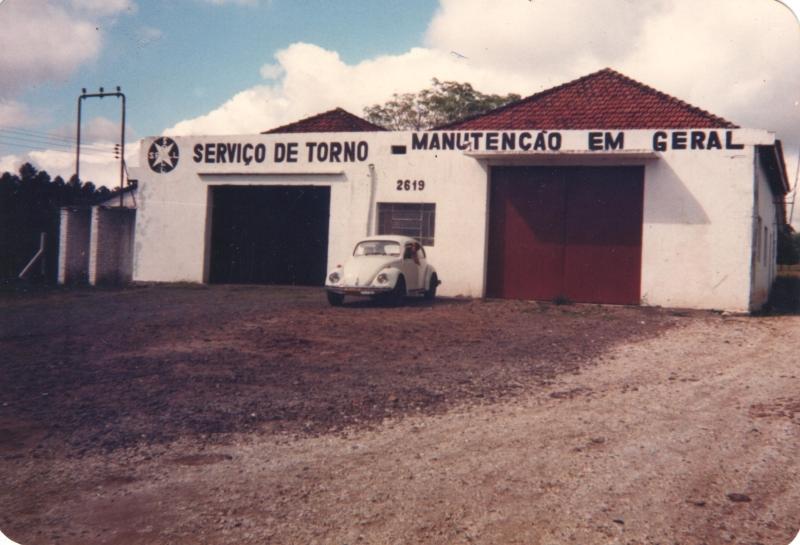 Primeira sede da SPALL - 1987